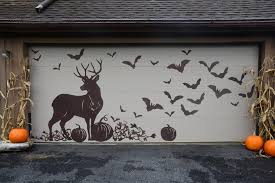 garage door opening on its ownGarden Silhouettes for Halloween Decorating  HGTV