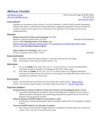 Best Software Engineer Resume Example Livecareer Objective For