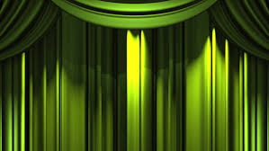 stock of green stage curtain on black background loop 13899092 shutterstock