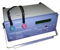 Приборы электроизмерительные аналоговые щитовые цифровые  Измеритель параметров цепи фаза нуль ЦК0220