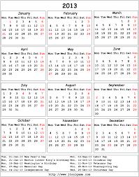 Us Calendar 2013 Barca Fontanacountryinn Com