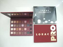 lorac mega pro palette newest cosmetics