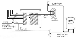 what s a pulse start ballast wiring diagram