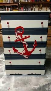 sea themed furniture. anchor cuff silver nautical dressernautical bedroomstriped furniturenautical sea themed furniture