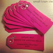 small town life dollar store bachelorette party favors