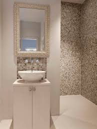 tiled bathroom walls. Example Of A Trendy Beige Tile And Mosaic Walk-in Shower Design In London Tiled Bathroom Walls L