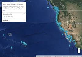 Tidal Stations North America West Coast Unix And Linux