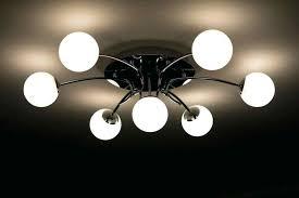 flickering chandelier