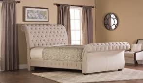 tufted upholstered sleigh bed. Simple Upholstered Decorating Impressive Tufted Sleigh Bed 7 Cyrano Upholstered Beige Tufted  Upholstered Sleigh Bed And H