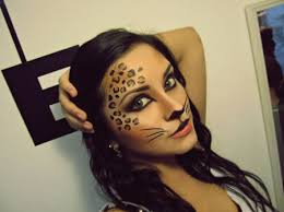 sweet cheetah makeup definitely going to do this for next year already have my flapper costume