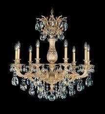 swarovski elements crystal chandelier schonbek 5679 27gs milano traditional 9 light parchment gold golden shadow swarovski undefined