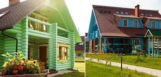 cottage paint colorsBright Exterior Paint Colors Adding Fun to House Designs