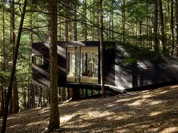Tree House Architecture This Tiny Cabin Is Like A Horizontal Treehouse Curbed