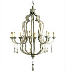 century wood and iron chandelier woobironchandelier 1 rustic c wooden wine barrel stave