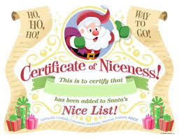 So, you can customize it using any vector software that. Not Angka Lagu Free Printable Santa S Official Nice List Certificate A Better Way To Give A Candy Cane With Free Printable This Mum At Home These 10 Cute And Free