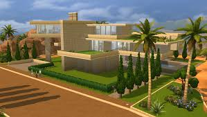 Small Picture Sims 4 Modern House Tutorial Sims DIY Home Plans Database