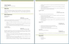 Free Professional Resume Template Word 2010 Page 2 Professionally ...
