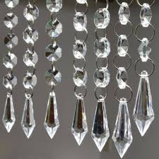 crystal garland for chandeliers crystal strands for chandeliers full image for how to decorate a chandelier with crystals 96 trendy interior or