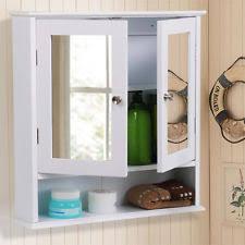bathroom wall cabinets. bathroom wall cabinet double mirror door wooden white shelf new cabinets