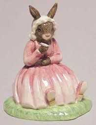 polly intl collectors club boxed bunnykins figurines by royal doulton