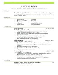 Housekeeping Resume Examples For Job Clinic Administrator Sample