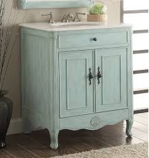 26 inch bathroom vanity. 26 Inch Bathroom Vanity Cottage Coastal Beach Style Vintage Blue Color (26\ .