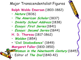 brief survey of american literature ppt 48 major transcendentalist figures