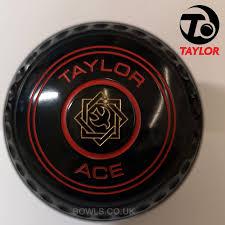 Taylor Ace Bowls Progrip Various Emblems Ring Colours Available