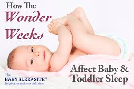 How Much Sleep Infant Chart Wonder Weeks Chart How It Affects Babys Sleep The Baby