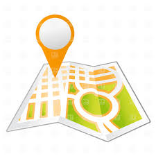 City Map With Pinpoint Stock Vector Image