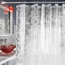 safe carttiya shower curtain liner including the shower curtain packaging bag is made from 100 high quality environmentally friendly eva material
