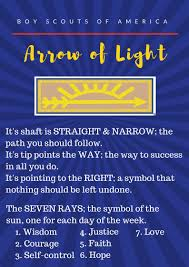 Arrow Of Light Ceremony Script Pin On Cub Scouts