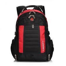 Удобный городской <b>рюкзак</b> черный с красным 33 литра | <b>Рюкзак</b> ...