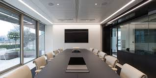 office interior designers london. Interiors Monochromatic Office Fit Out In London - Boardroom Interior Designers