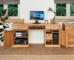 Hidden home office furniture Armoire Home Office Furniture Manufacturer Accrington Unique Baumhaus Mobel Oak Large Hidden Office Twin Pedestal Puter Desk Better Homes And Gardens Office Home Office Furniture Manufacturer Accrington Unique