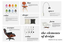 eames furniture design. I Created This Poster In Order To Draw Attention Ray \u0026 Charles Eames\u0027 Use Of The Elements Design. All Images Their Furniture Are Vectors Eames Design