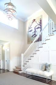staircase wall art decorating a staircase wall entry transitional with wall art furry bench pendant light on stairway wall art with staircase wall art decorating a staircase wall entry transitional