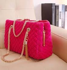 chanel inspired bags. bag: chain, imitat, quilted, quilted bag, gold hot pink - wheretoget chanel inspired bags