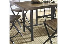 industrial counter height table. Industrial Counter Height Table Kavara Dining Set And Chairs D