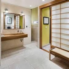 Japanese Bathrooms Design Design Unique Japanese Bathroom Design With Metal Tub And Black