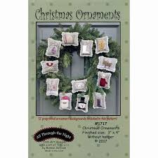 Christmas Ornaments Pattern - Bonnie Sullivan - All Through the ... & Christmas Ornaments Pattern Adamdwight.com