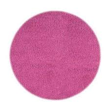 ultimate hot pink 8 ft round area rug