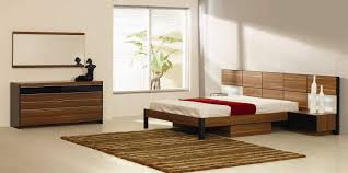 Italian Quality Wood Designer Bedroom Furniture Sets with Extra