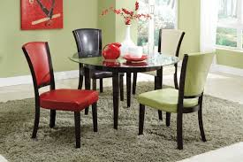 Glass Kitchen Tables Round Round Pedestal Dining Table Set 60 Round Dining Table Set 48