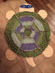 Turtle rag quilt (a Simplicity pattern) | Baby/kids quilts ... & Rag quilt ninja turtle Adamdwight.com