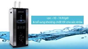 Bảo Hành Tận Nhà ] Máy lọc nước RO nóng lạnh Sunhouse SHR76210CK 10 lõi +  Tặng Bộ 3 Nồi Inox Sunhouse