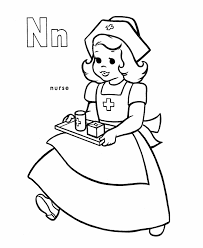 n coloring page n for nest coloring page with handwriting practice