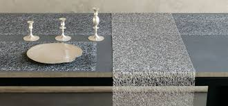chilewich  table  placemats  runners  metallic lace  silver