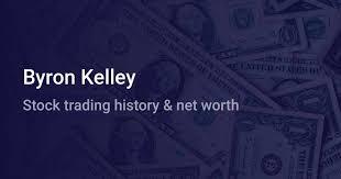 Byron Kelley Net Worth (2020)   wallmine