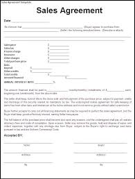Goods Sales And Purchase Agreement Template Ten Features